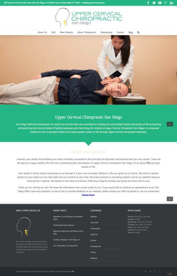 Upper Cervical Chiropractic SD