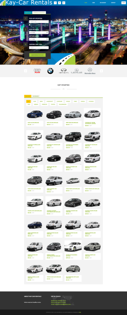 Kay Car Rental screenshot